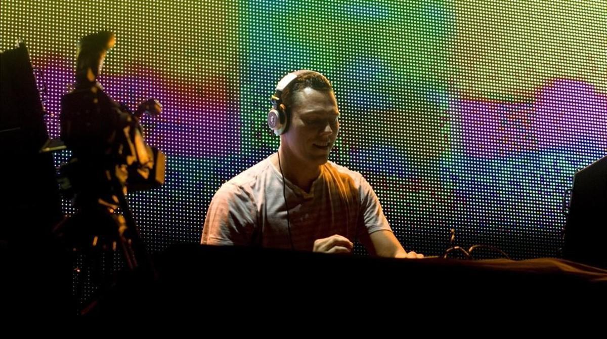Tiësto, en el Summer Week de Barcelona del 2009.