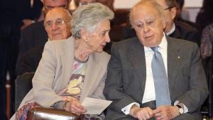 El expresidente Jordi Pujol y su esposa Marta Ferrusola, en una imagen de archivo.