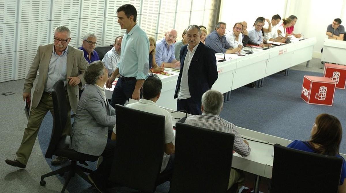 El secretario general del PSOE, Pedro Sánchez.