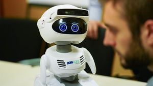 Prototipo de robot.