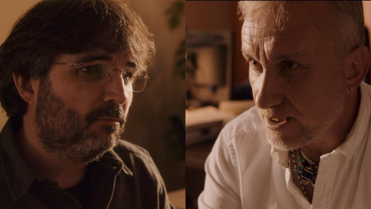 Jordi Évole y Fernando Blanco, padre de Nadia Nerea, en 'Lo de Évole'