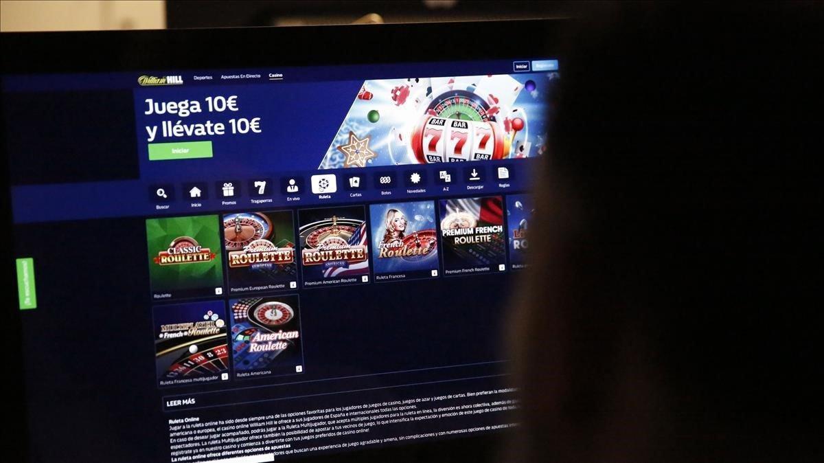 Un usuario se conecta a una plataforma de juego online