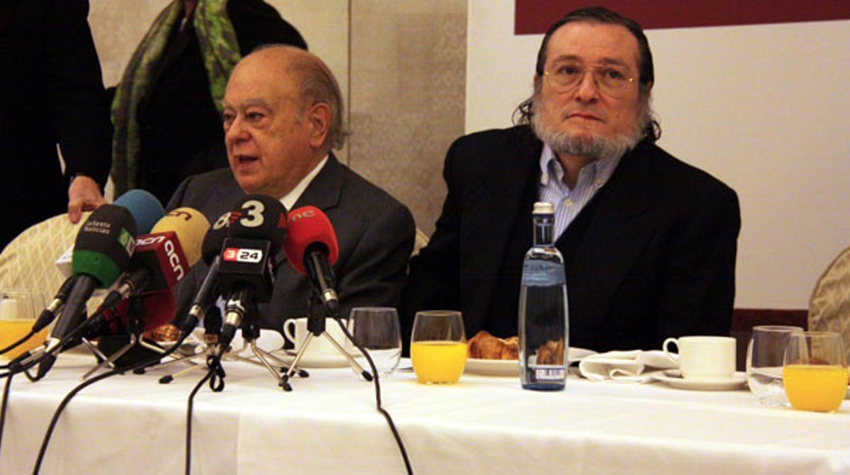 Pujol y Niño Becerra coinciden en que España es un lastre para la economía catalana.