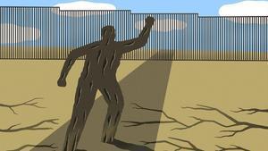 Caravana de migrants i denúncia