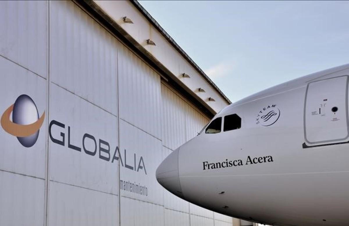 Airbus 330-300 de Air Europa, aerolínea de Globalia.