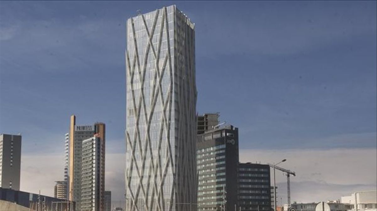 La Torre Telefónica en Barcelona, vendida a un fondo durante el primer semestre del 2019.