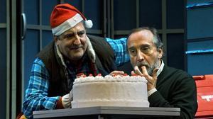 Javivi Gil Valle y Gonzalo de Castro, en una escena de 'Invernadero'.
