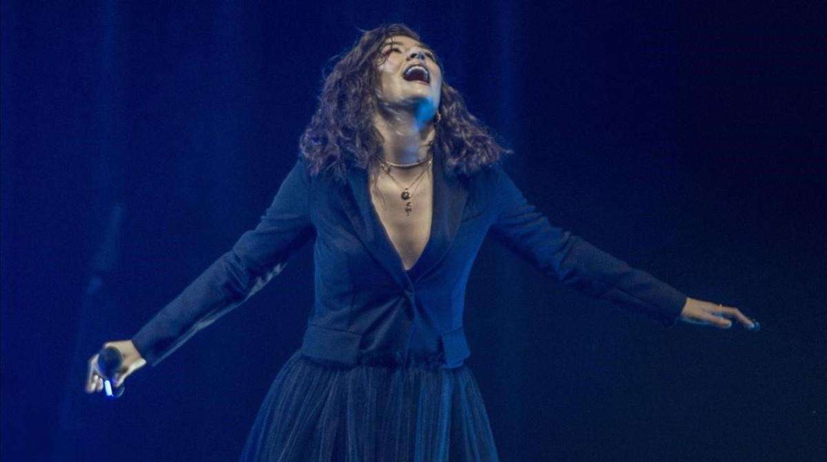 Lorde, en el Sant Jordi Club.