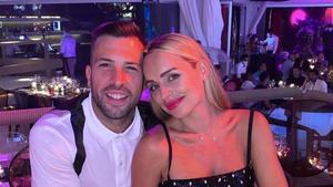 Romarey Ventura y Jordi Alba han sido padres por segunda vez.