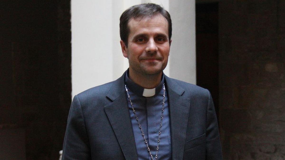 Xavier Novell, obispo de Solsona, en una imagen de archivo.