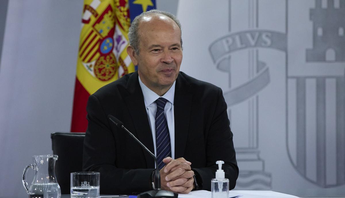 El ministro de Justicia, Juan Carlos Campo, en una imagen de archivo