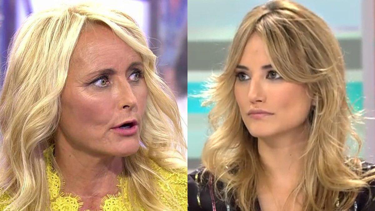 Lucía Pariente y Alba Carrillo.