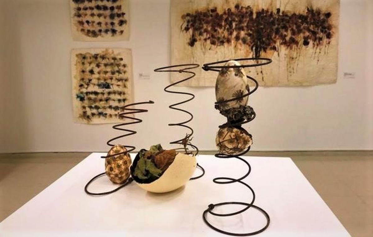 El Centre Cultural El Carme de Badalona acoge una exposición surgida entre la botánica y el arte.