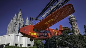 El parc del Tibidabo de Barcelona torna a obrir aquest dissabte