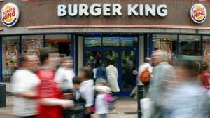 Un establecimiento de la cadena de hamburgueseríasen Londres.