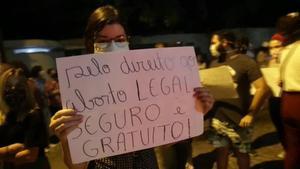 El Brasil endureix l'avortament dies després del cas de la menor violada de 10 anys