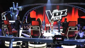 Una imagen de la final de la tercera temporada del concurso musical 'La voz kids'.