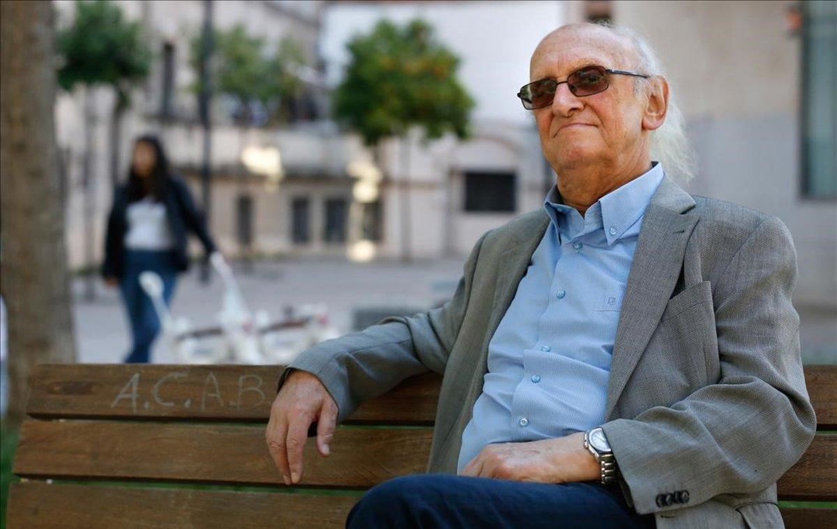 El escritor griego de novela negra Petros Márkaris.