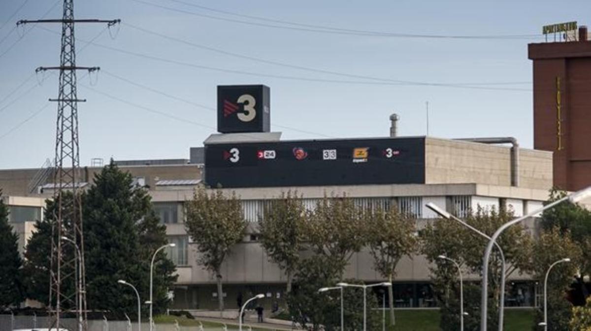 Los estudios de TV-3, en Sant Joan Despí.