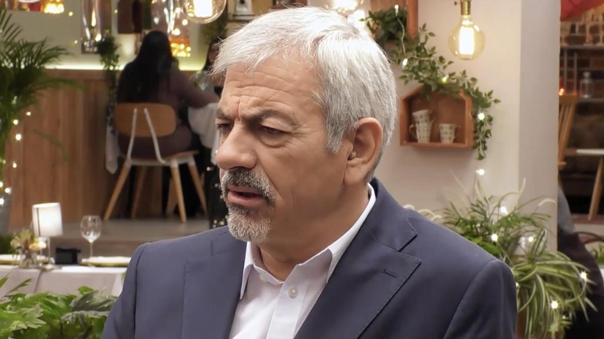 L'inesperat comentari de Carlos Sobera a 'First Dates' que va sorprendre Matías Roure