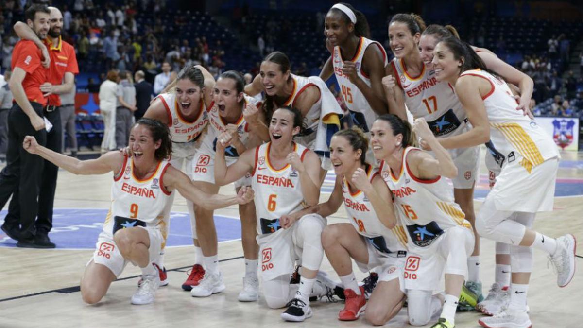 España es la vigente campeona del Eurobasket tras ganar a Francia en 2019.