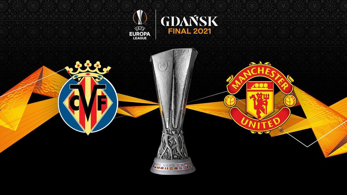Villarreal y Manchester United buscarán este miércoles levantar el título en Gdansk.