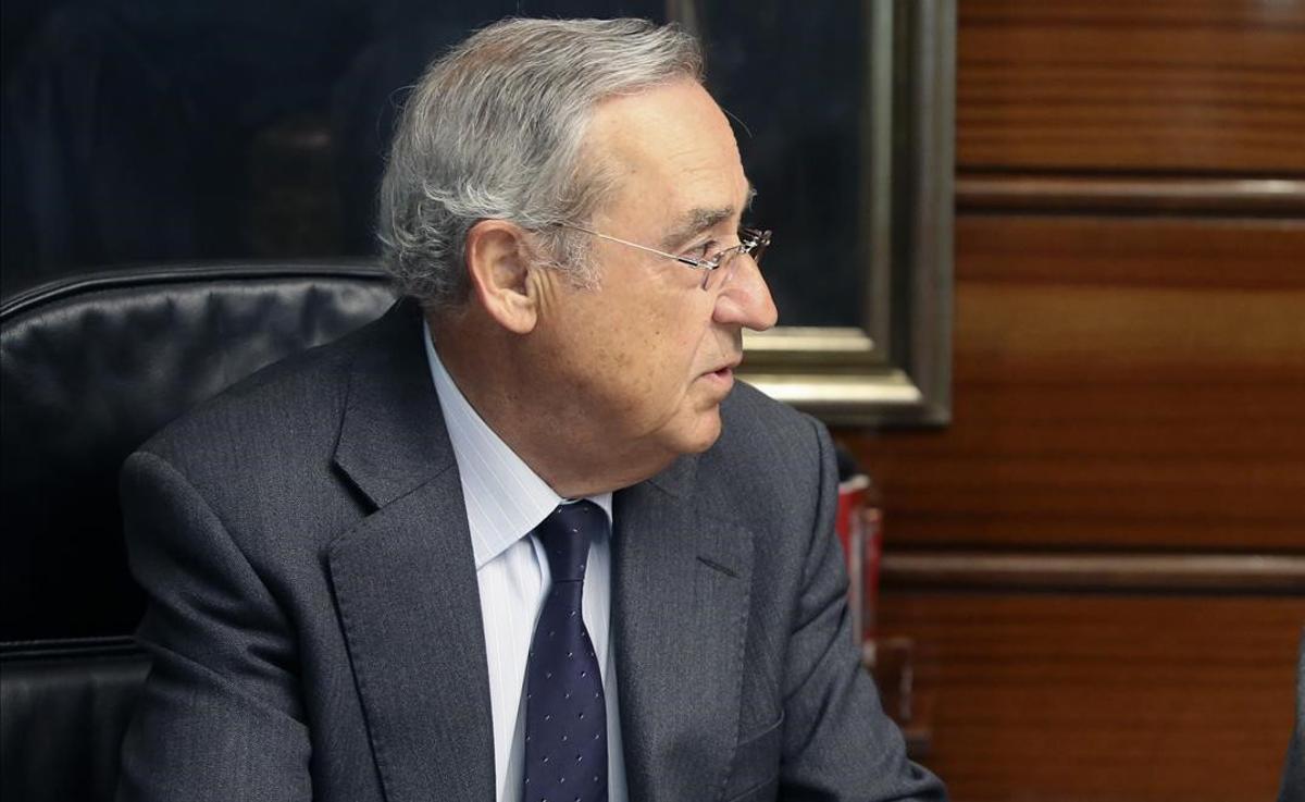 El magistrado Antonio Narváez, en una imagen de archivo.