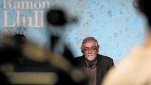 Vicenç Villatoro, ayer, en la rueda de prensa que ofreció en la sede del Gobierno de Andorra.