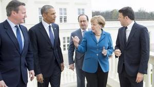 Merkel, l'única supervivent del 'tsunami' del 2016