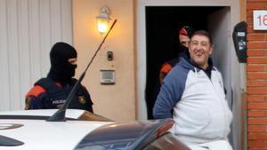 Operativo de los Mossos d'Esquadra en Valls contra el tráfico de drogas.