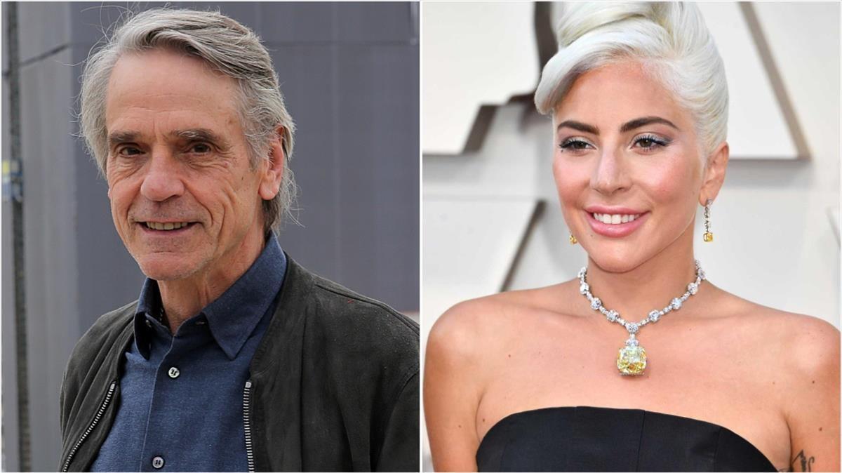 Jeremy Irons y Lady Gaga, fichajes de Ridley Scott para su película sobre el asesinato de Gucci.