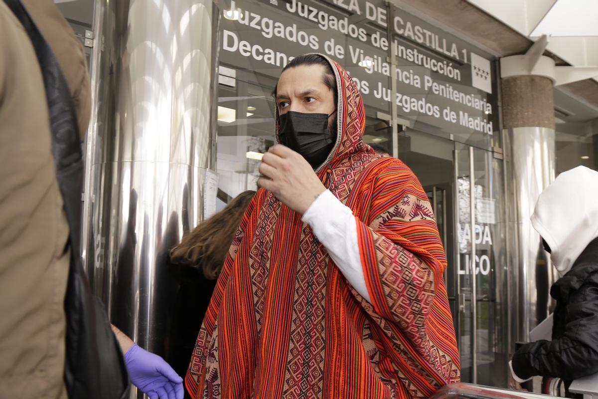 Rafael Amargo acude a los juzgados en Madrid.
