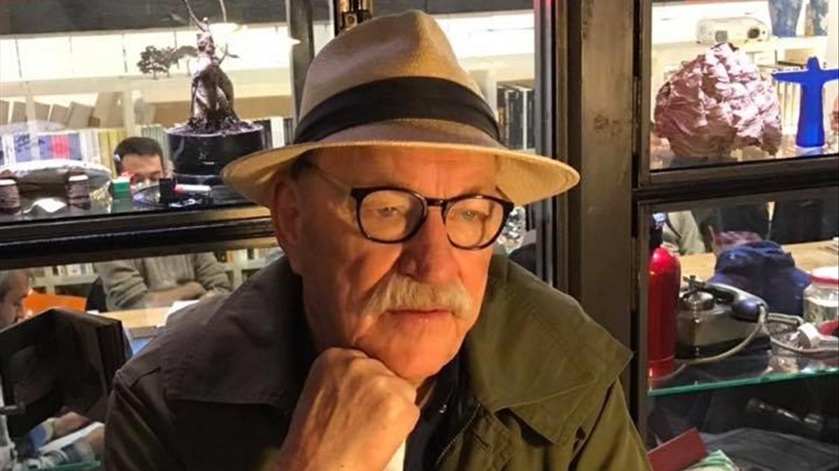 El escritor noruegoGert Nygårdshaug.