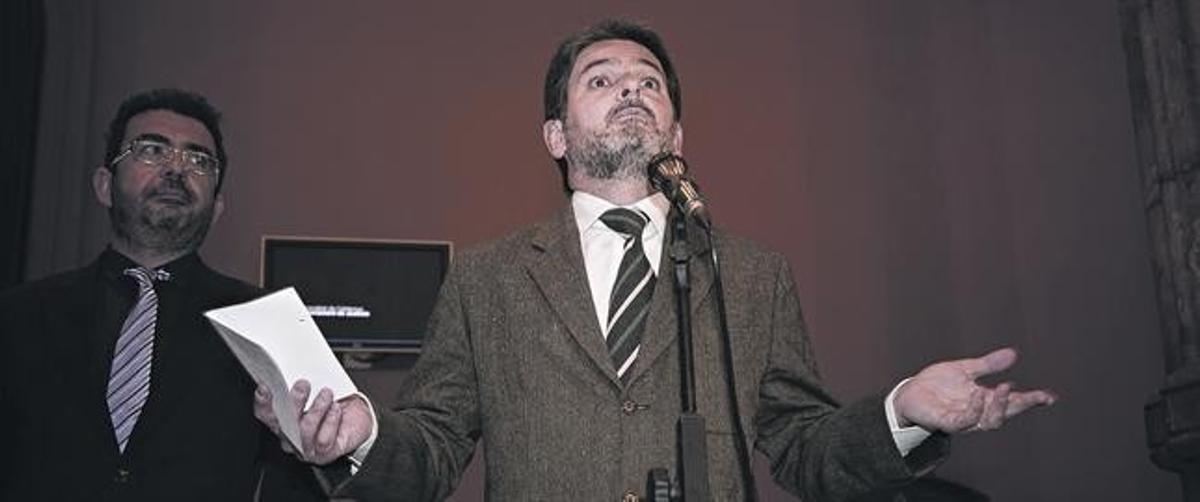 Pujol, el pasado abril, tras declarar en la Audiencia de Barcelona