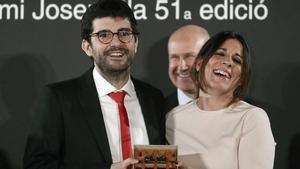 Marc Artigau, premio Josep Pla: Siento rabia de vivir en un país donde hay presos políticos.