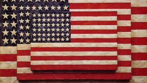 Jasper Johns: l'artista inacabable