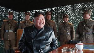 Kim Jong Un defiende que no habrá mas guerras en Corea del Norte gracias a su disuasivo potencial nuclear.