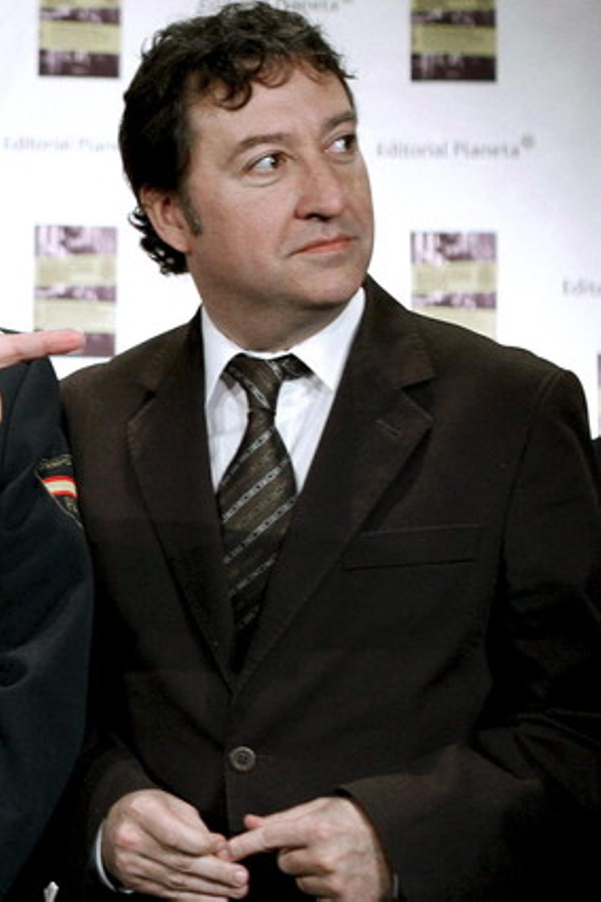 El ya exdirector de Comunicación del Ministerio del Interior, Albert Gimeno, en Barcelona, el 7 de abril del 2009.