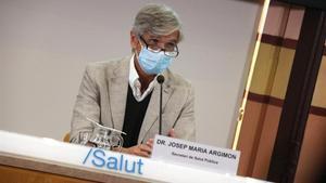 El secretario de Salut Pública y gerente del Institut Català de la Salut (ICS), Josep Maria Argimon