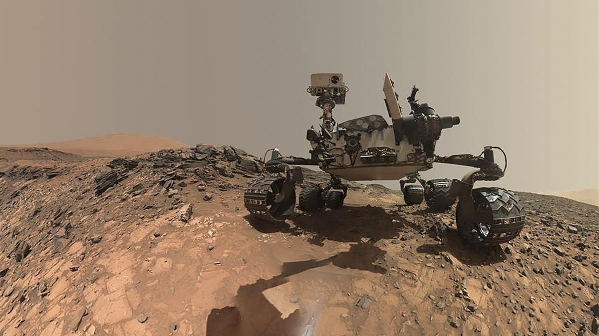 El roverCuriosity, que proporciona datos del planeta rojo desde el 6 de agosto del 2012