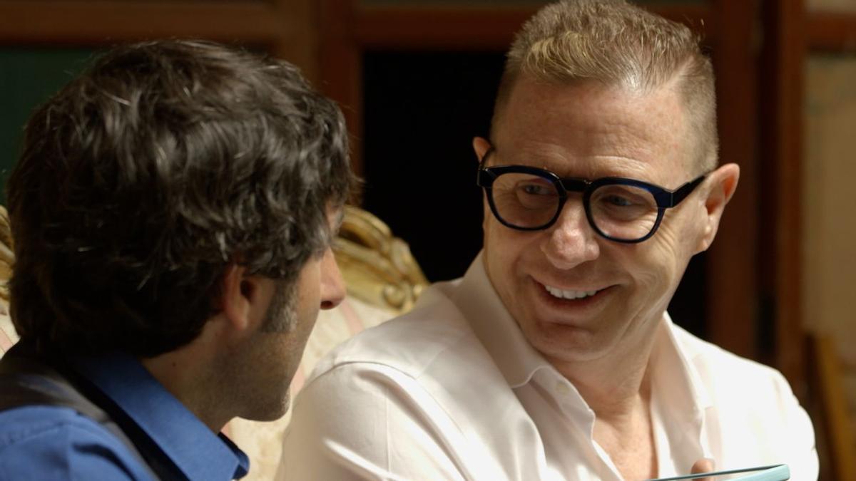 Jorge Cadaval, humorista de Los Morancos, en el programa 'Fake night'.