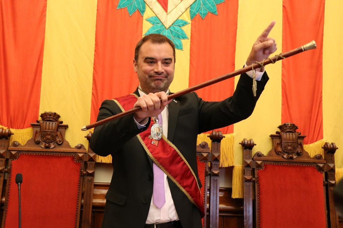 Jordi Ballart, alcalde de Terrassa.