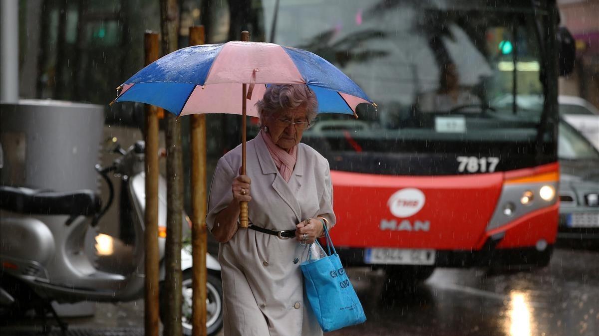 De paraigües i gavardines