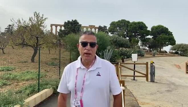 Sergi López-Egea opina sobre el Giro de Italia 2020