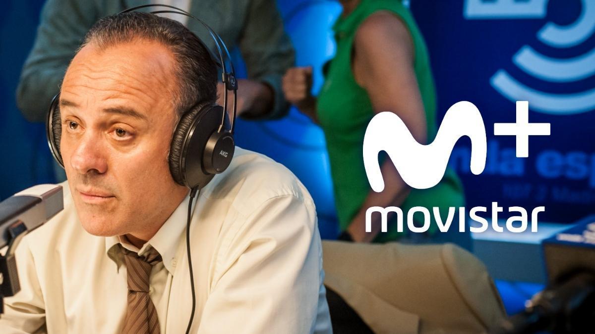 Javier Gutiérrez en una de las escenas de 'Reyes de la noche', la nueva serie original de Movistar+