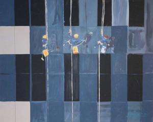 Segundo Premio Pintura Marraco 2019. 'Reflejos'. Centre Penitenciari Ponent.