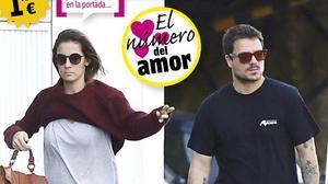 Dani Martín y su nueva novia, en la portada de la revista 'Cuore' de esta semana.