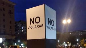 'No violaràs', la campanya de Saragossa que no deixa indiferent