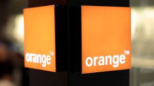 An Orange logo is seen in a phone shop of a shopping centre in Nice, southern France, March 8, 2016.    REUTERS/Eric Gaillard/File Photo                GLOBAL BUSINESS WEEK AHEAD PACKAGE - SEARCH 'BUSINESS WEEK AHEAD 24 OCT'  FOR ALL IMAGES