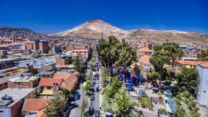 Vista aérea de Potosí